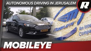 Intel and Mobileye take us on an autonomous lap of Jerusalem