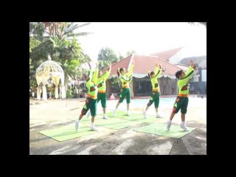 Senam bugar anak Indonesia (KBAI) koreo Rudi Poco-poco