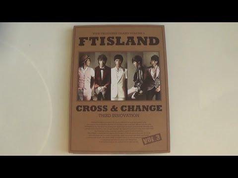 Unboxing FT Island 에프티 아일랜드 3rd Studio Album Cross & Change