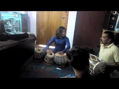 pooja karunga teri yaar tabla player umakant mehra (golu) in practice time