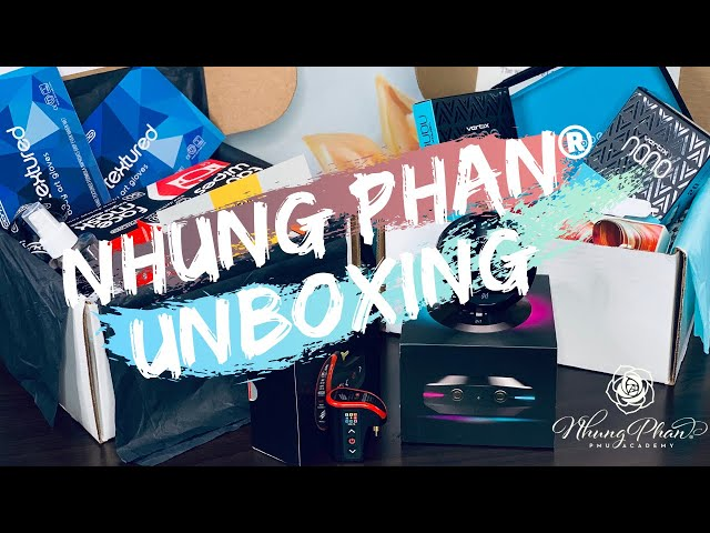 💥NHUNG PHAN® UNBOXING💥 CARE PACKAGE FROM MICROBEAU: FLUX™ S, HOVER AND LIGHTNINGBOLT