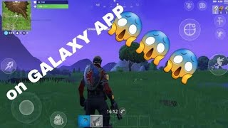 NOW !! Download Fortnite on android (Galaxy phones) for free 😍