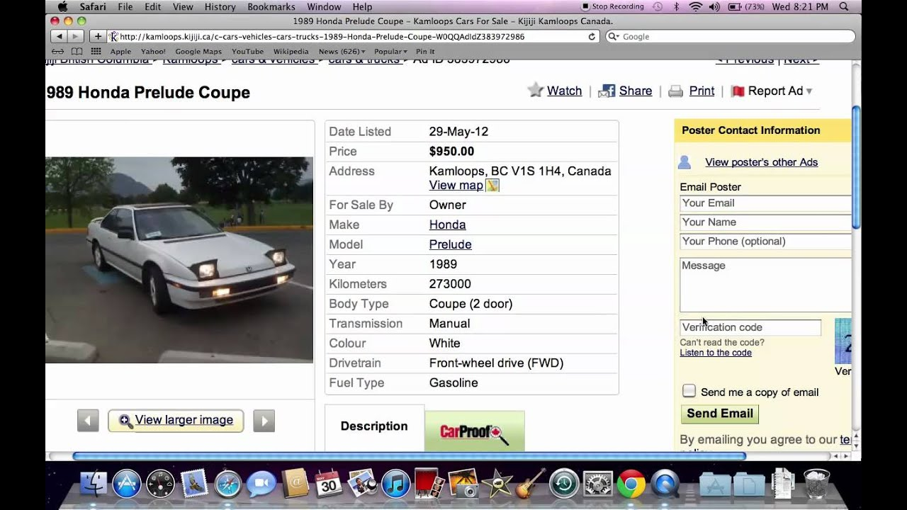 Kijiji Used Cars For Sale: For Sale By Owner Options