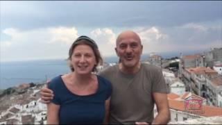 Claudio Bisio e  Angela Finocchiaro