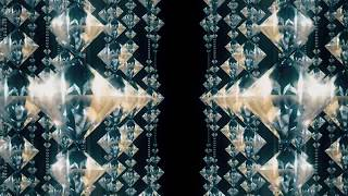 Hanging diamonds with blinking shining reflection| seamless looped |Crystal chandelier|By SUNARI VFX