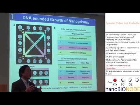 "Discovering ""Genetic Codes"" for Nanomaterials Morphologies... (Yi Lu)"