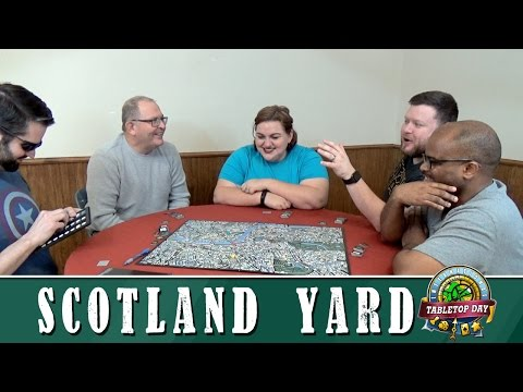Scotland Yard - International Tabletop Day 2017