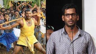 நான்- ல Action hero னு சொல்றதுக்கே வெட்கமா இருக்கு    Vishal Open Speech   Ezhumin Trailer launch