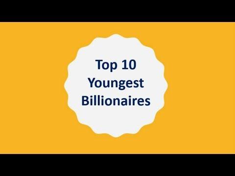 World's Top 10 Youngest Billionaires