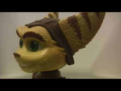 It Figures Ratchet And Clank Future Action Figure Review Youtube