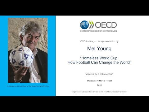 OECD: The Coffees of the Secretary-General with Mel Young