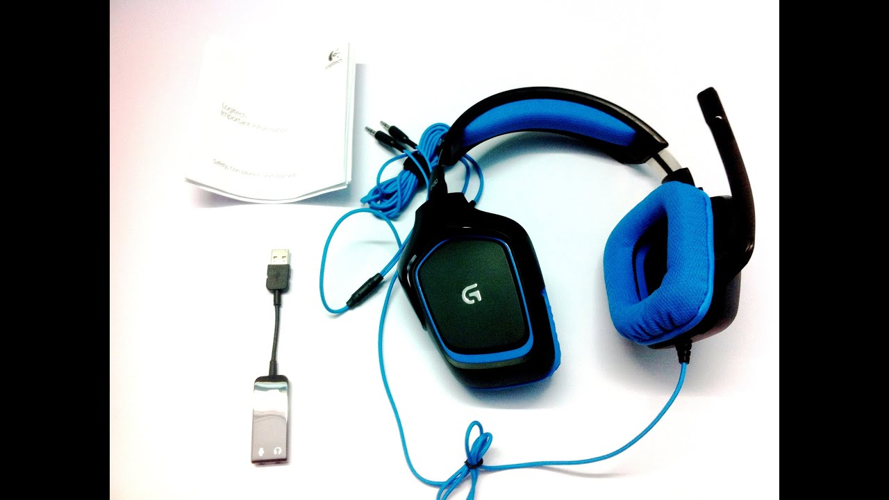 Logitech G430 Gaming Headset Unboxing And Overview (INDIA