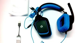 Logitech G430 Gaming Headset Unboxing And Overview (INDIA)