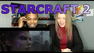 StarCraft II  Heart of the Swarm Opening Cinematic (Reaction 🔥)