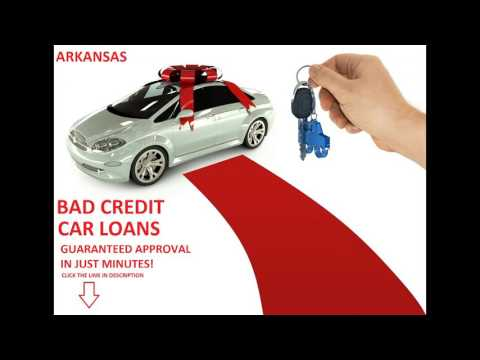 Car Loans For Bad Credit in Arkansas - Instant Approval