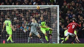 Manchester United vs Liverpool 1-1   ZLATAN GOAL SAVES UNITED