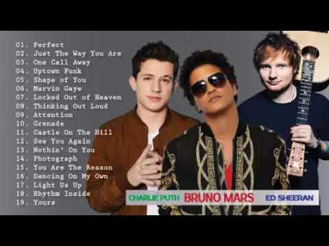 Lagu Barat Bruno Mars. Charlie Puth. Ed Sheeran(by Angzha Putih)