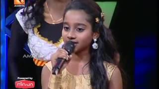 vuclip Super Star Junior-5 | Bhavana Singing 'Tanha Tanha' from Movie 'Rangeela'