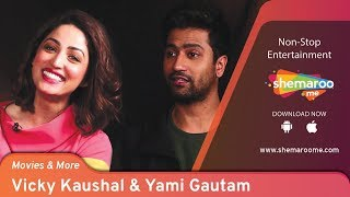 Vicky Kaushal & Yami Gautam Rapid Fire   Movies & More   Interview with Siddharth Kannan