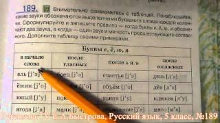 Peremena TV Русский язык, Быстрова, №189
