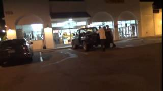 6. Gang Stalking Target Goes To Pay For Car Wash - Person in White There - 10/16/2015