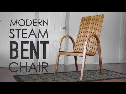 How To Make A Modern Steam Bent Chair | Woodworking / Steam Bending