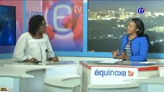 THE 6PM NEWS EQUINOXE TV (Guest:  Barrister Michèle NDOKI )  Monday, May 21st 2018