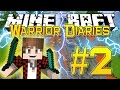 Minecraft Warrior Diaries - Hunger Games Survival on Badlion (Episode 2)