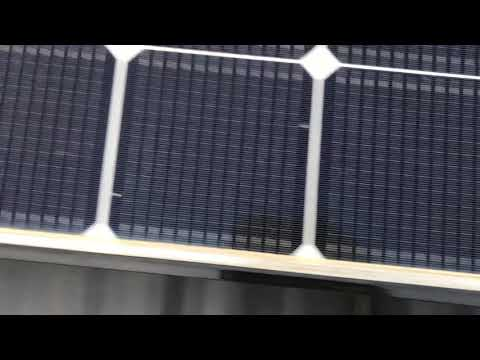 Solar Panel Dirt and Pollen Build Up - HE Solar LLC