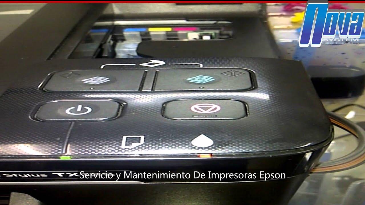 pasos para resetear chip epson tx125 135 no se reconocen cartuchos rh youtube com manual da impressora epson tx125 manual impressora epson tx 125
