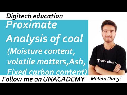 Proximate Analysis | Moisture Content | Volatile Compounds | Ash | Fixed Carbon Content | B.tech