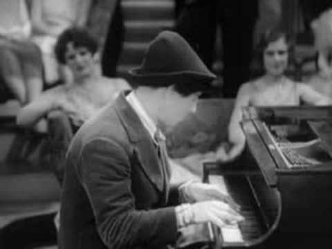 "Chico Marx - piano - from Animal Crackers - ""Silver Threads Among the Gold"""