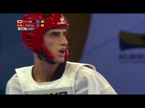 RABAT 2017 WorldTaekwondo GRAND PRIX SERIES 2 Semifinal -58kg Jesus Tortosa(ESP) vs Tae Hun Kim(KOR)