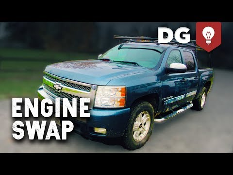 Miled Out '08 Chevy Silverado 1500 Gets An Engine Swap