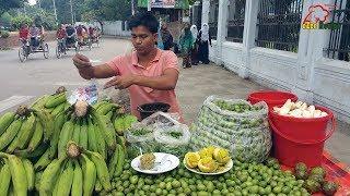 ঢাকার ষ্ট্রিট ফুডের কাঁচা কলার ভর্তা    Kacha Kola Vorta   Green Banan Chatni   ভিডিও ব্লগ - ৫