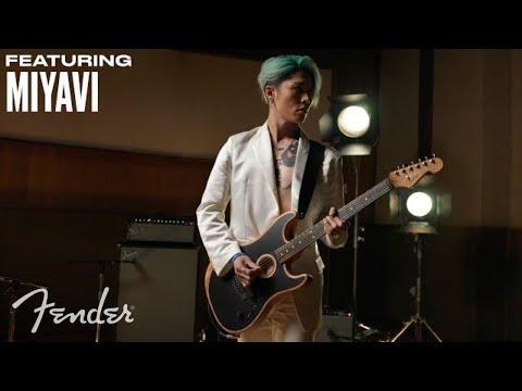 Miyavi | American Acoustasonic Stratocaster | Fender