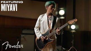 Miyavi   American Acoustasonic Stratocaster   Fender