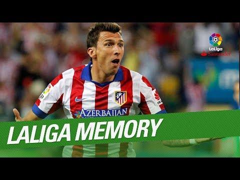 LaLiga Memory: Mario Mandzukic Best Goals and Skills