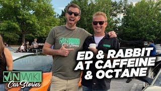 Ed & Rabbit at Caffeine & Octane - Sept 2019