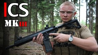 ICS PAR MK3 AIRSOFT REVIEW - ICS Softair Test GSPAirsoft