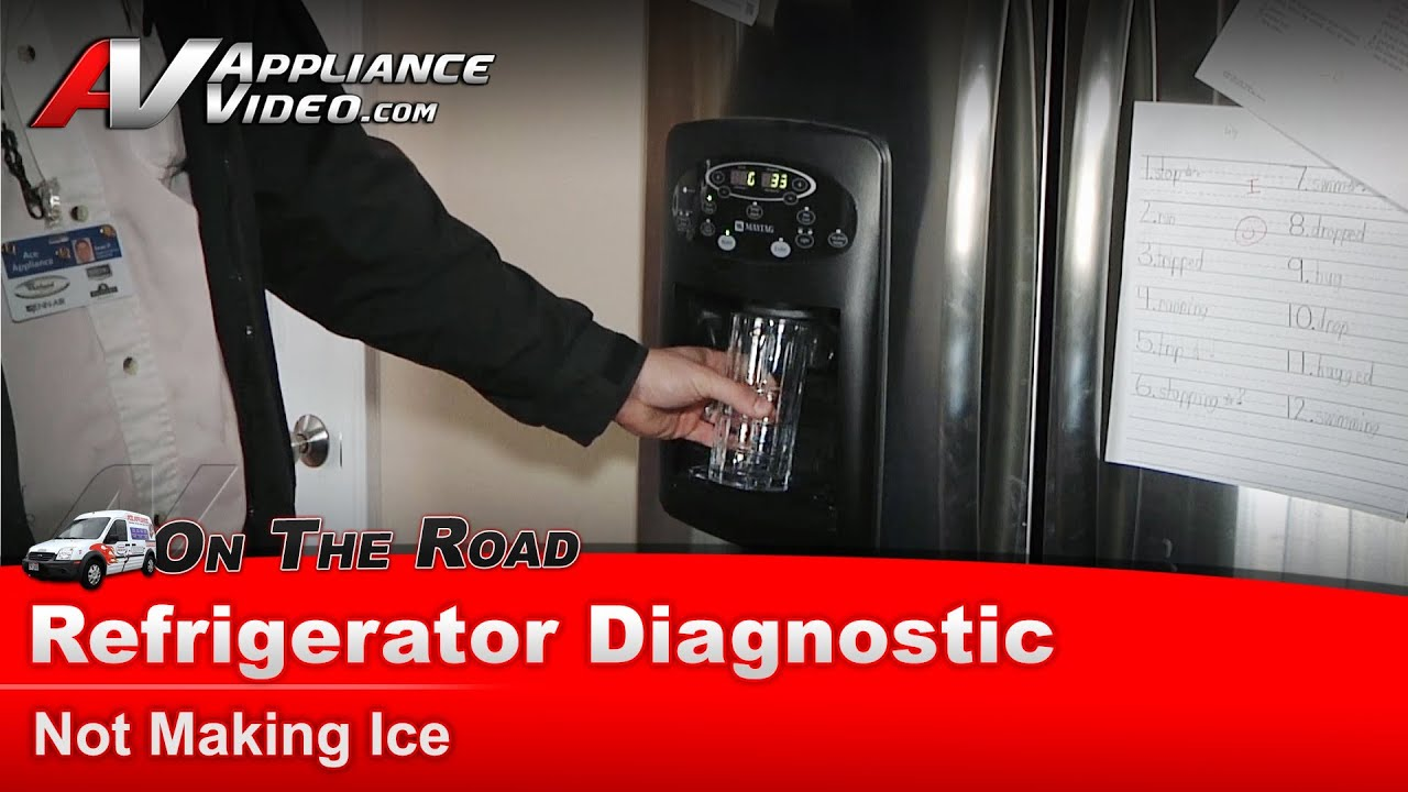 Whirlpool Refrigerator Diagnostic Not Producing Ice