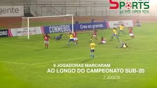 brazil Women U-20 - 8-1 Paraguay Women U-20- South America  championship Final & All goal trunament