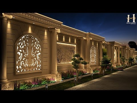 compound wall designs 2017  YouTube