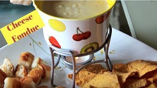 Cheese Fondue  Classic Swiss Home-made Recipe  Kanaks Kitchen HD