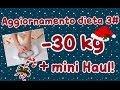 Aggiornamento dieta Dukan 3#, Haul e Auguri
