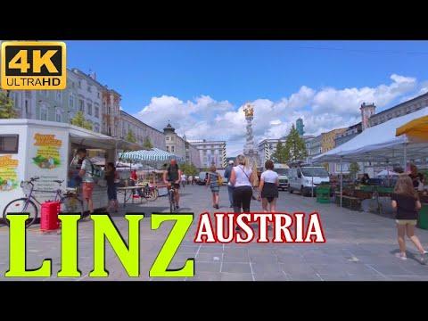 Linz Austria - Linz am Freitag 4k UHD