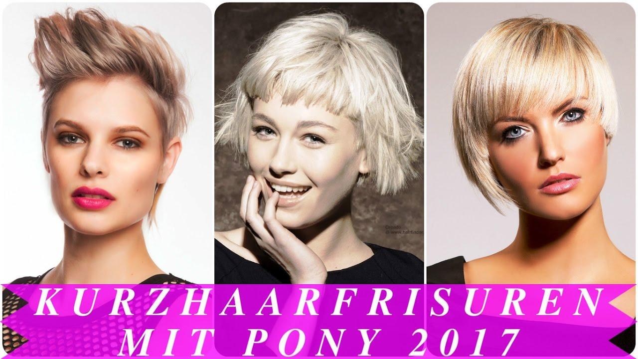 Frisuren fur kurzes haar mit pony