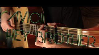 Avicii - Hey Brother (fingerstyle guitar cover by Peter Gergely) [WITH TABS]