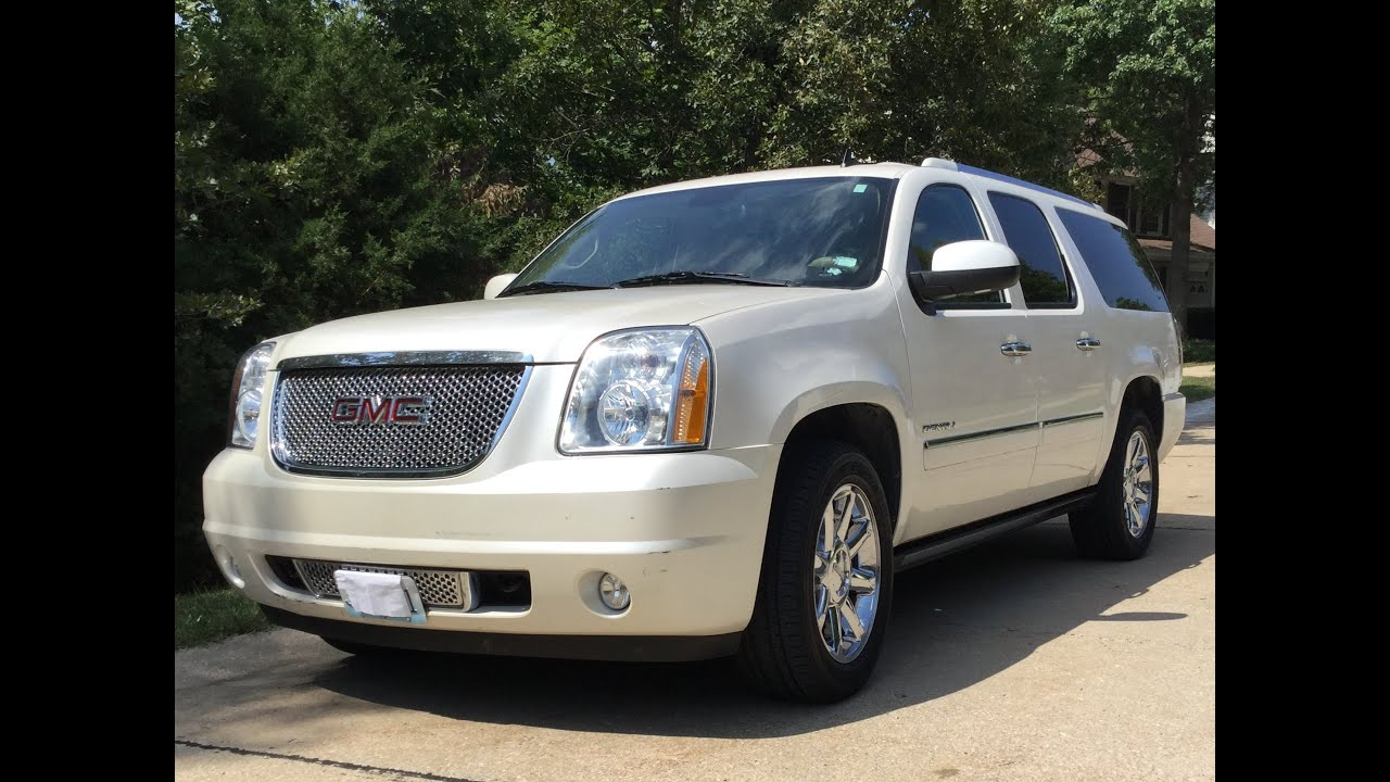 one owner 2010 gmc yukon denali xl 2wd 93k miles youtube. Black Bedroom Furniture Sets. Home Design Ideas