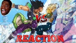 MIGHTY REACTION: DRAGON BALL SUPER: BROLY SDCC 2018 Trailer!